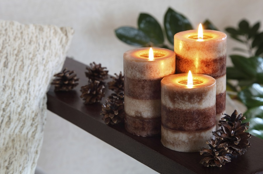 burning-scented-candles